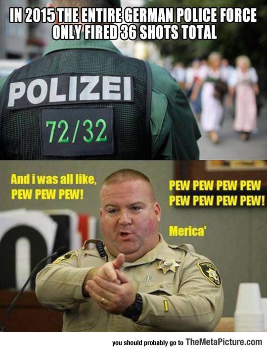 German Vs. American Police