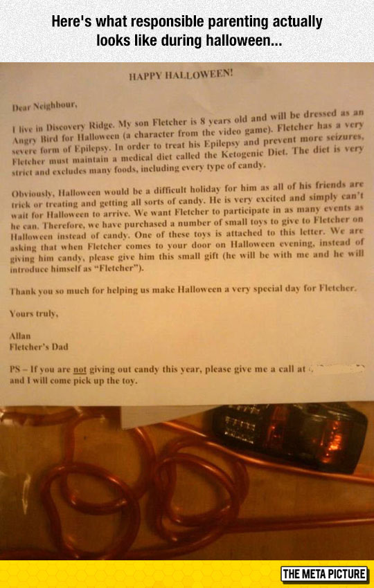 Responsible Parenting During Halloween