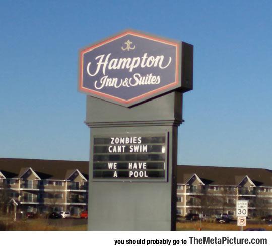 funny-Hampton-hotel-sign-zombies