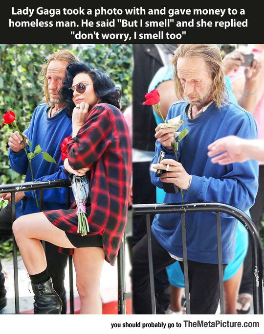 Lady Gaga Being A Lady