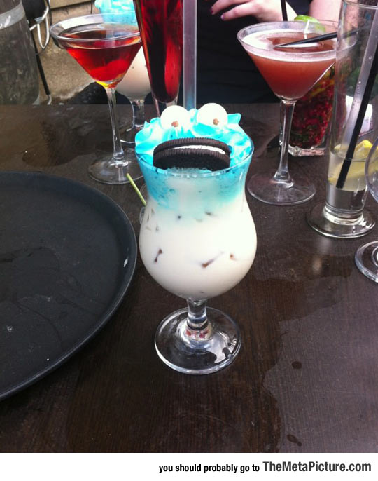 Cookie Monster Cocktail Win