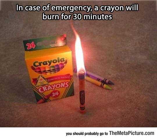 Keep This In Mind In Case Of Emergency