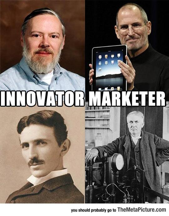 Innovator Vs. Marketer