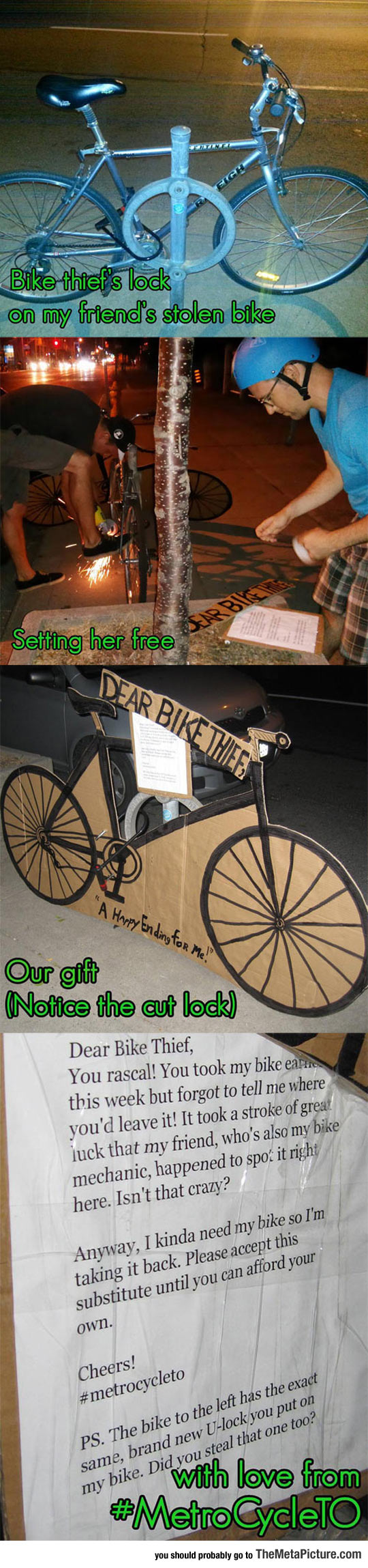 How To Properly Deal With A Bike Thief