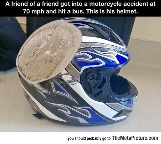 helmet-after-accident-aftermath