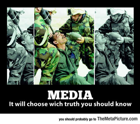 The Media Decides What You Should See