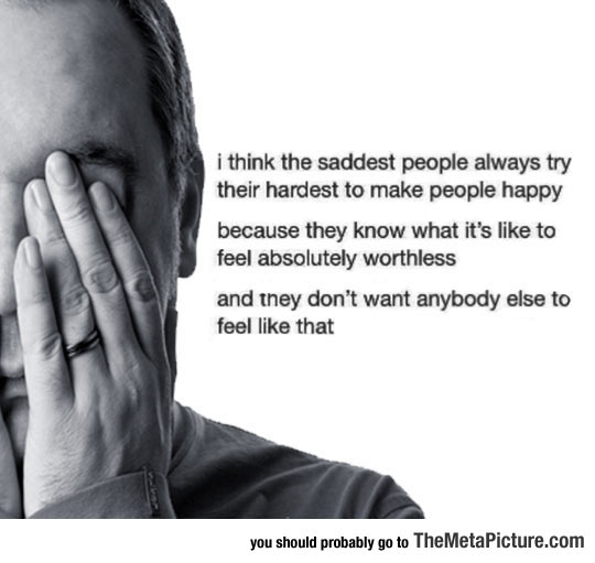 Sad People Try Their Hardest