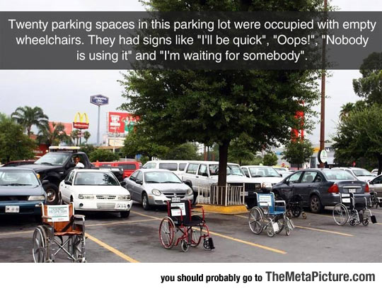 People Kept Abusing Handicapped Parking Spots, Then This Happened