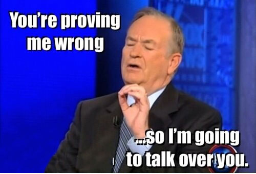 Bill O'Reilly Logic