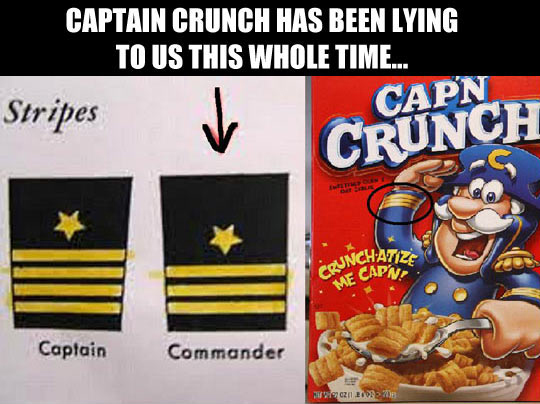 Captain Crunch Is Full Of Lies