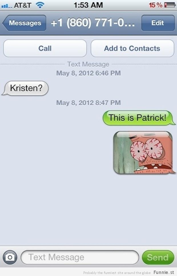 Give them the Patrick treatment