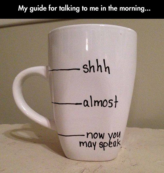 If You Want To Talk To Me In The Morning