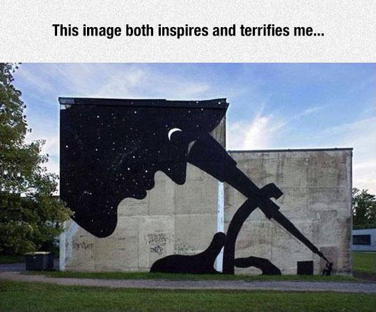 Inspiring And Terrifying