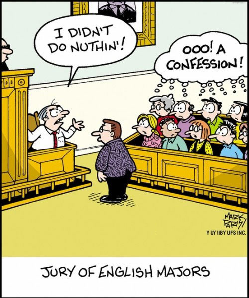 Jury of English Majors