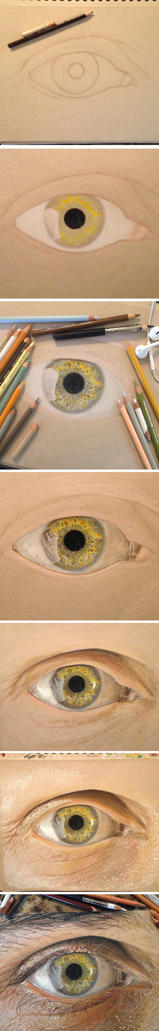 Just A Drawing Of An Eye