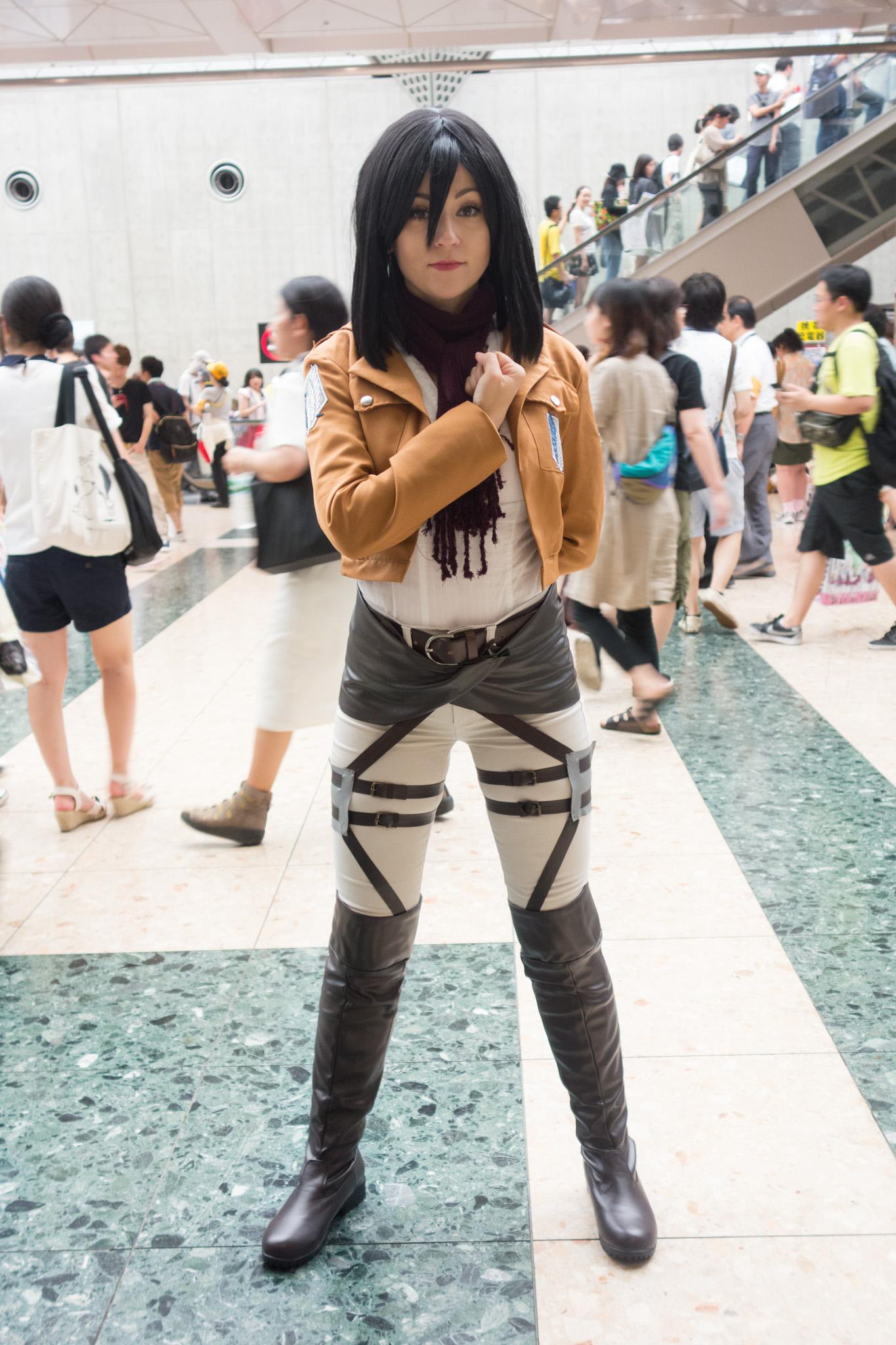 Mikasa Akerman Cosplay