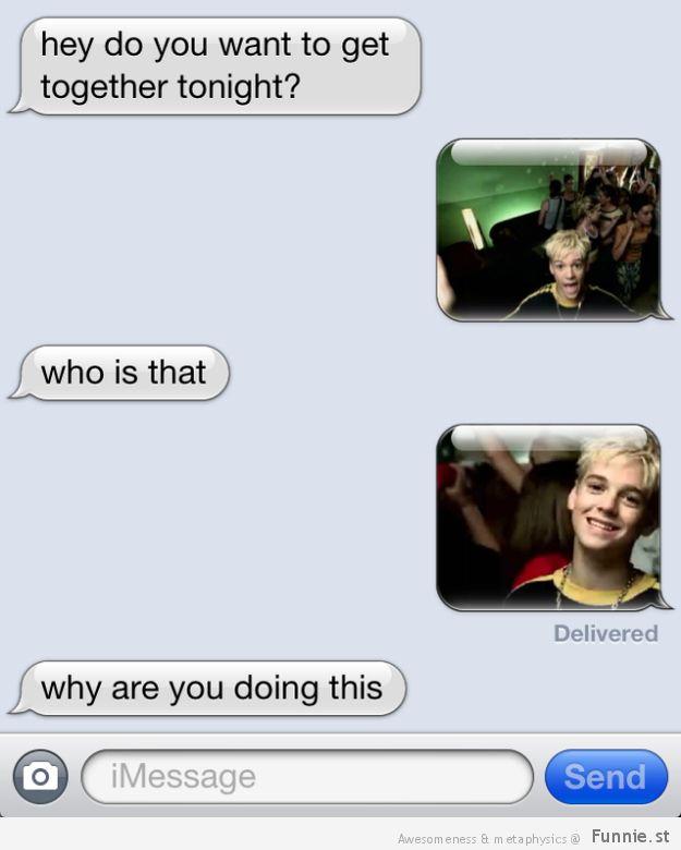 Send pictures of Aaron Carter