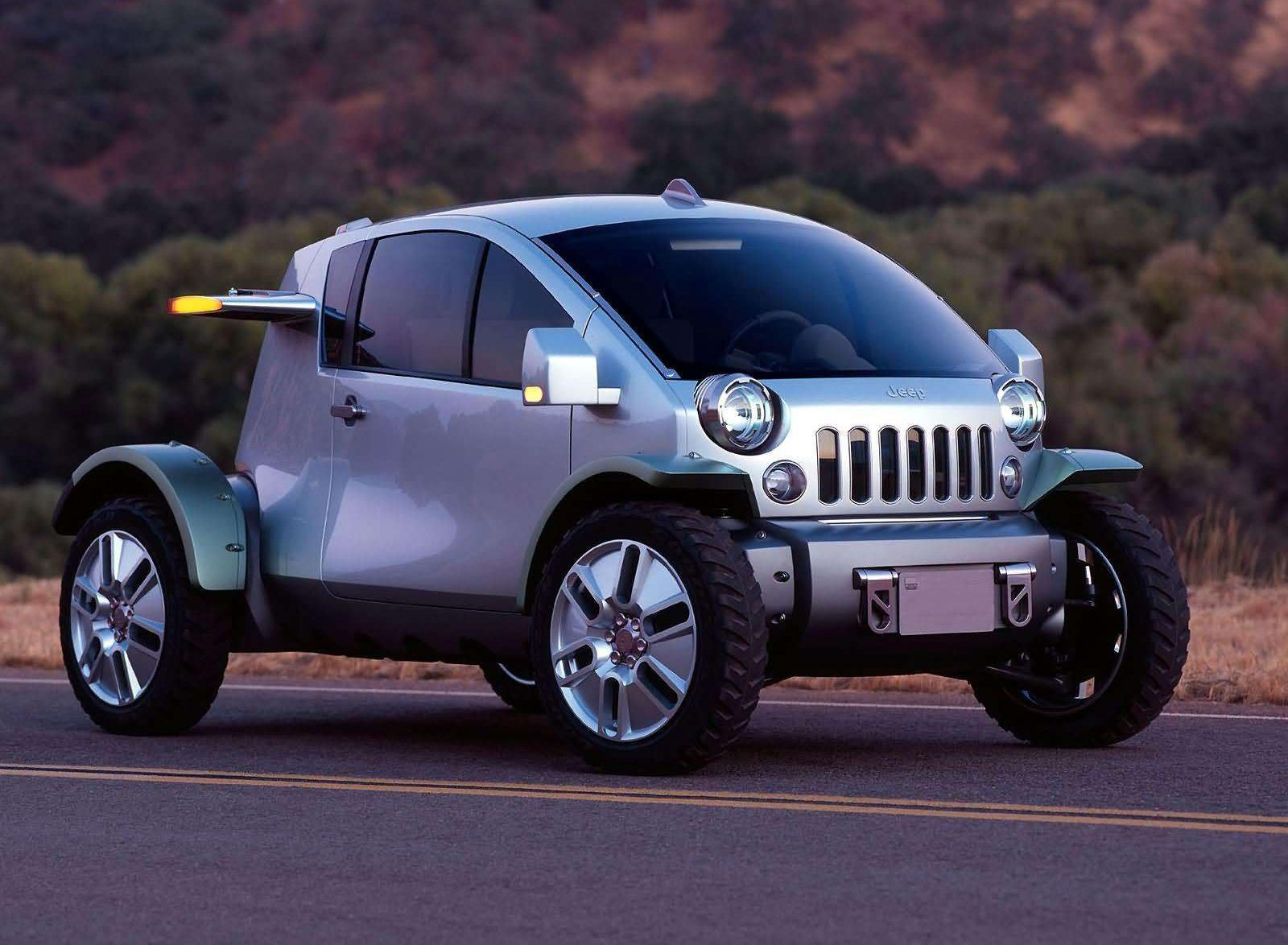 That time Jeep tried to make a smart car. (2003)