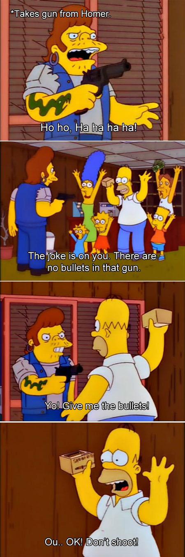 The joke is on you…