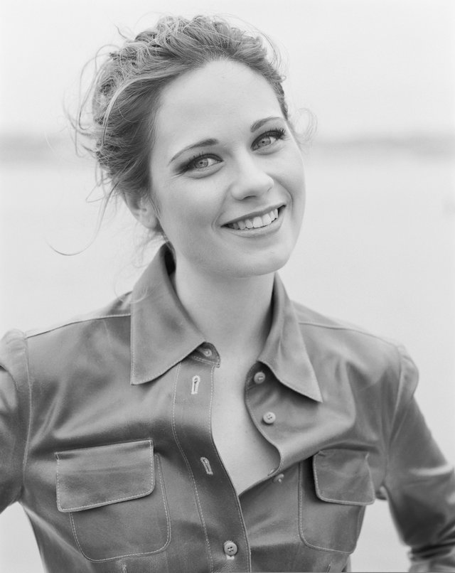 Zooey Deschanel without bangs