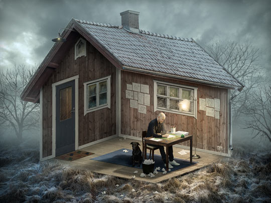 The Architect By Erik Johansson Really Confuses My Mind