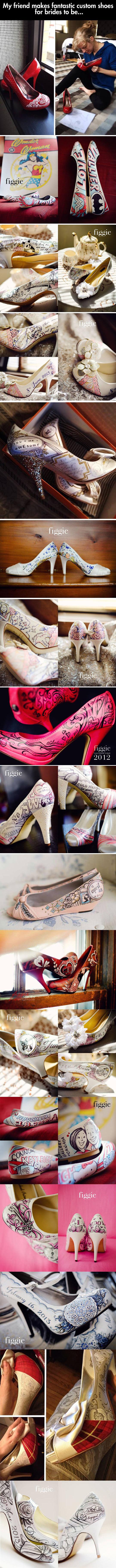 art-customized-shoes-brides-wedding-handpainted