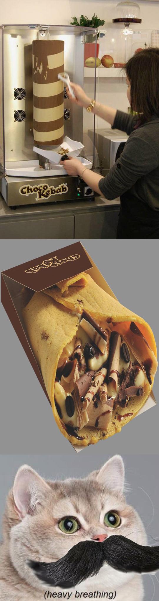 Chocolate Kebab