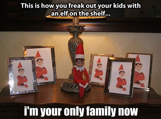 The Proper Way To Freak Out Your Kids