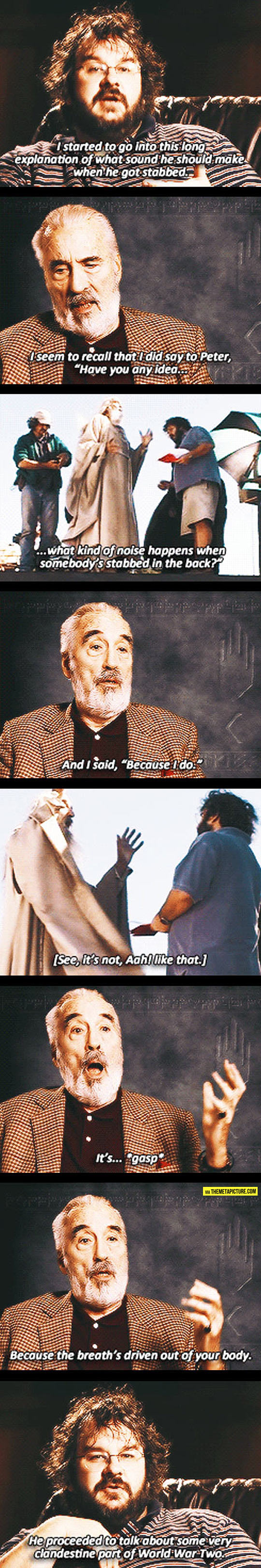 Too Much Information, Saruman