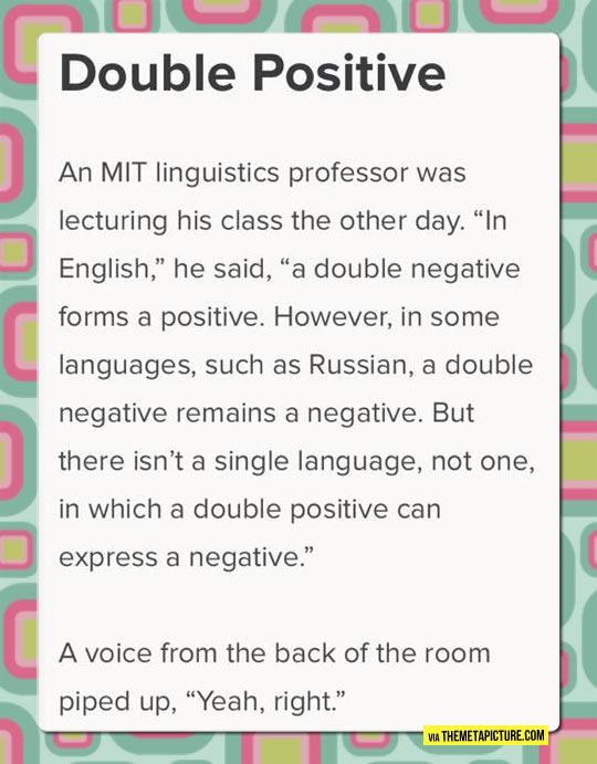 Linguistic Lesson