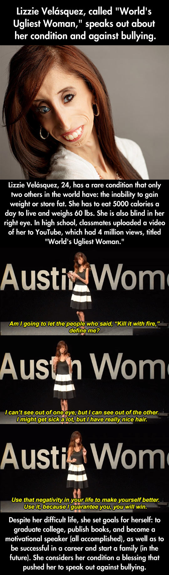 Lizzie Velasquez, A Role Model