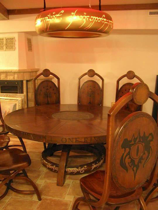 One Epic Dining Room Set To Rule Them All