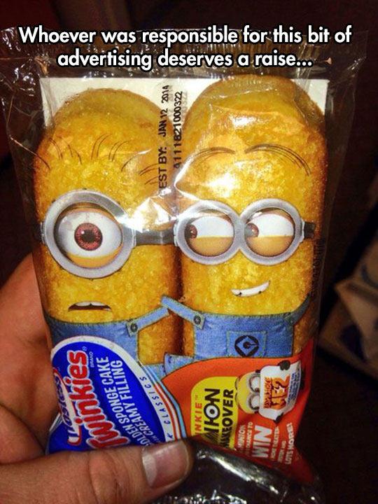 Minion Twinkies Design
