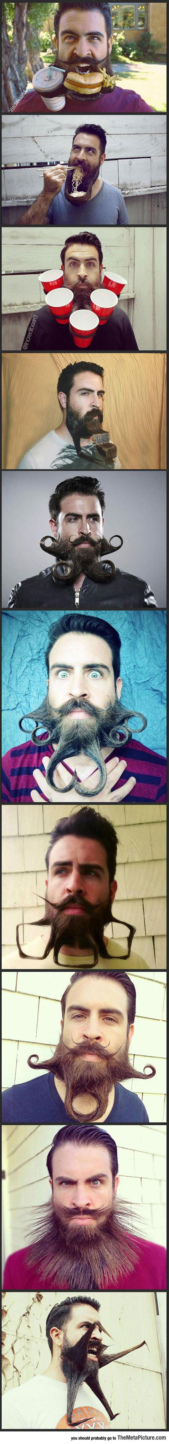 Meet Crazy Beard Guy