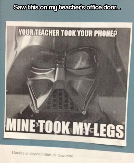 So Your Teacher Took Your Phone