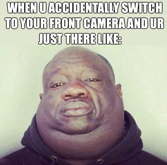 When You Accidentally Switch