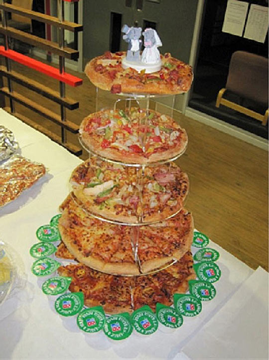 Now This Is My Kind Of Wedding Cake