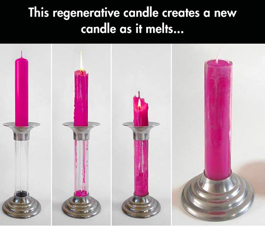 The Candle That Regenerates