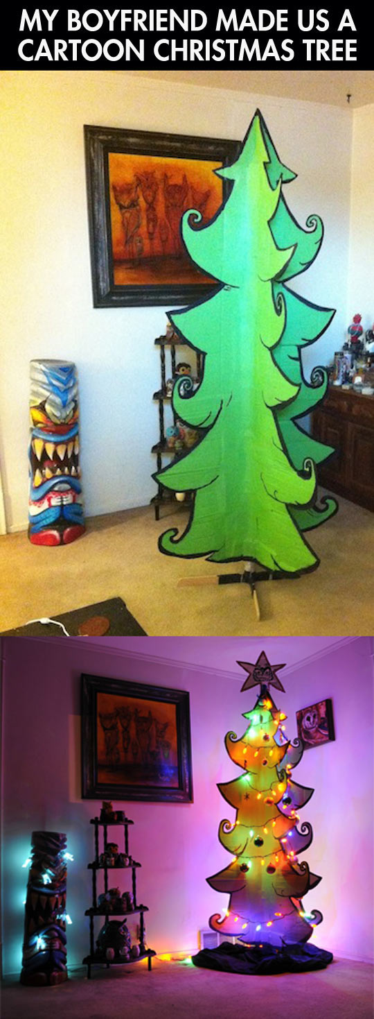 Not Your Usual Christmas Tree