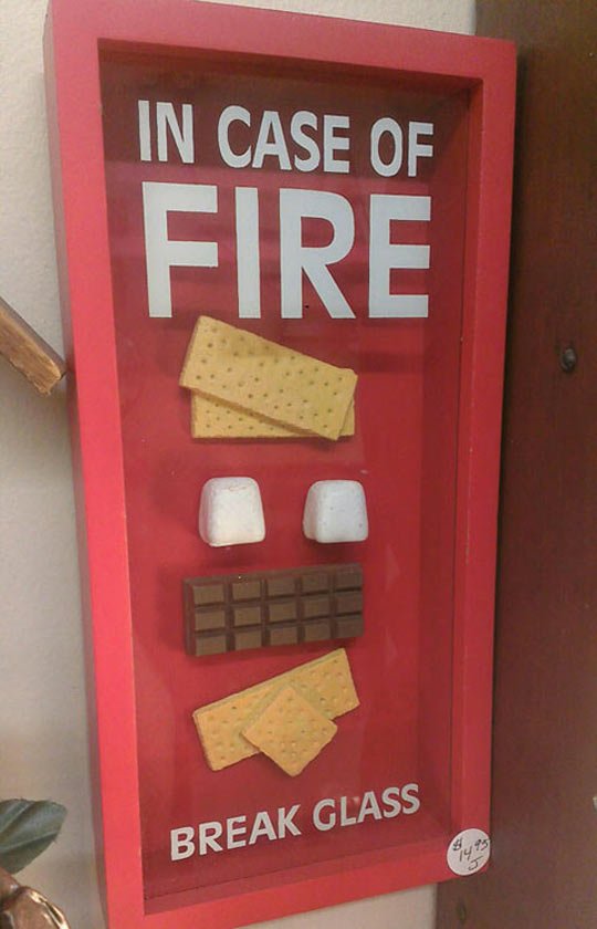 cool-case-fire-food-chocolate-emergency