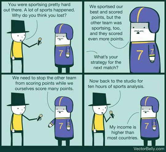 Pretty Much Every Sports Interview Ever