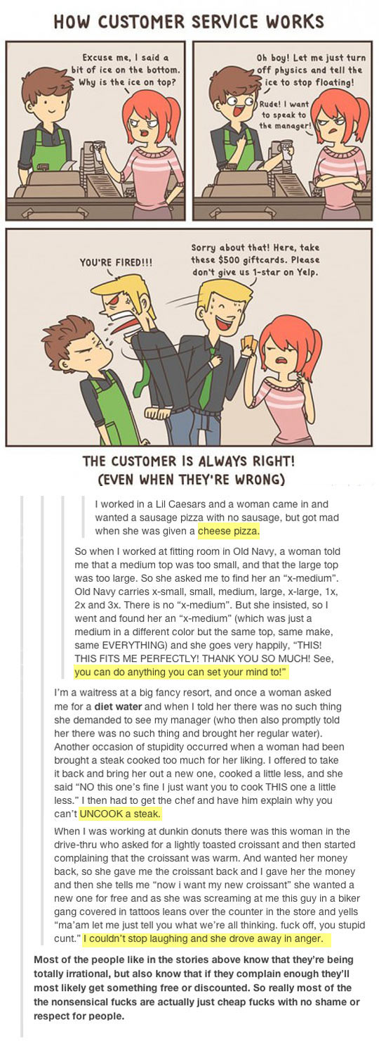Everybody Should In Customer Service Once In Their Lives