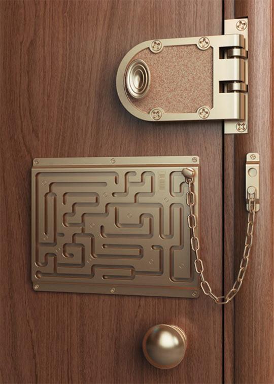 cool-door-lock-maze-chain