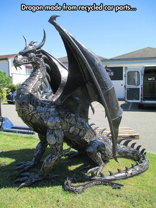 cool-dragon-metal-work-art