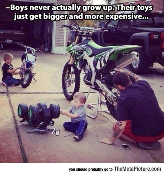 Boys Never Grow Up