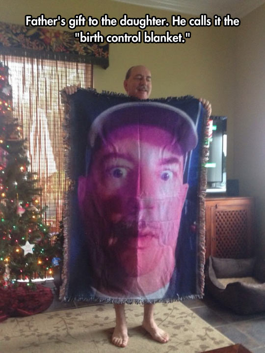 cool-father-gift-blanket-daughter