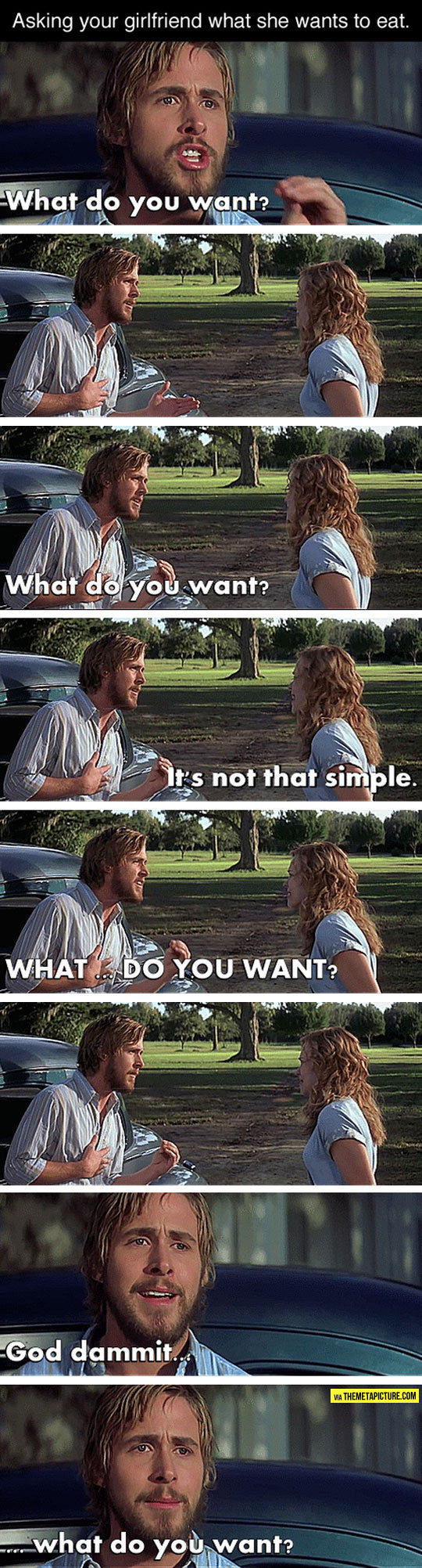 Asking Your Girl What She Wants
