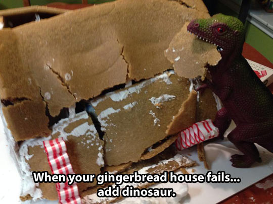 Fixing Gingerbread House Fails
