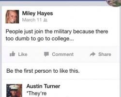 Military Burn