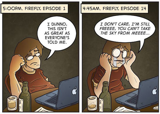 Watching Firefly For The Very First Time